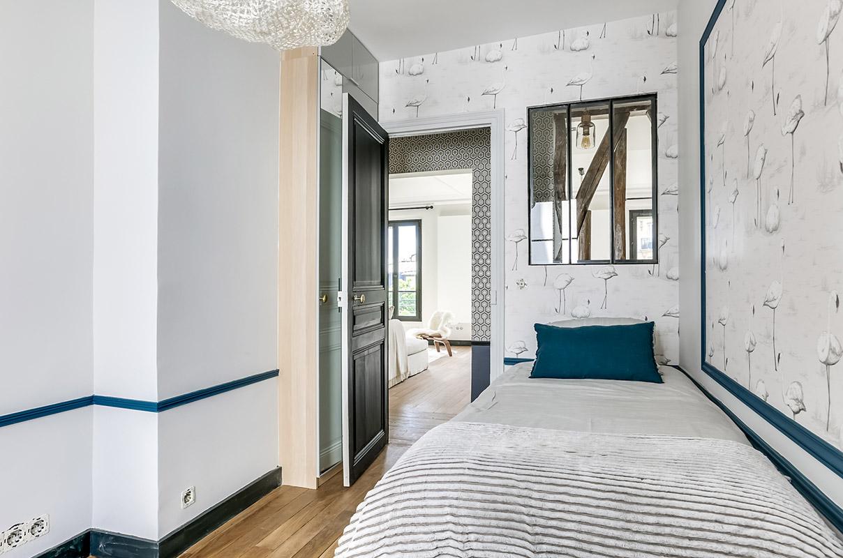 Habiller les murs de votre appartement  Tendance Papier peint
