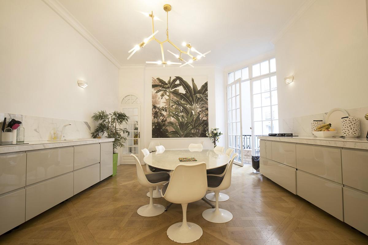 10 cuisines d appartements meubles
