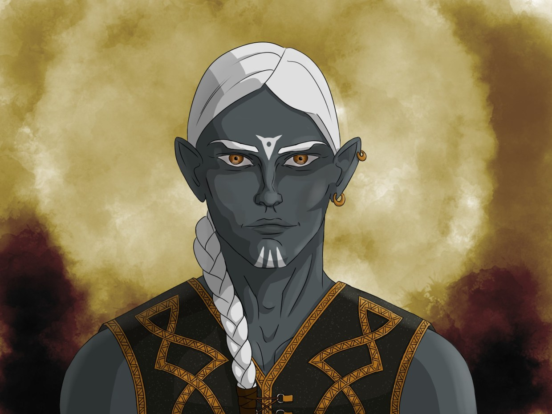 Aomine, Elfe Noir