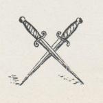 spadini incrociati primo logo longanesi editore