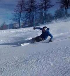 Federico Skiing Chamonix