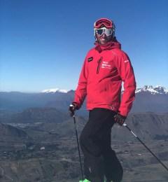 giacomo skiing