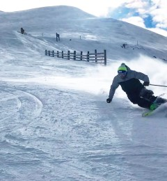 Giacomo Skiing St Gervais