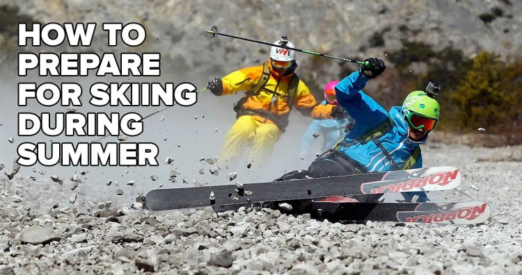How To Prepare For Skiing During Summer