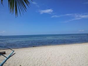 Beach in Catanauan Cove.