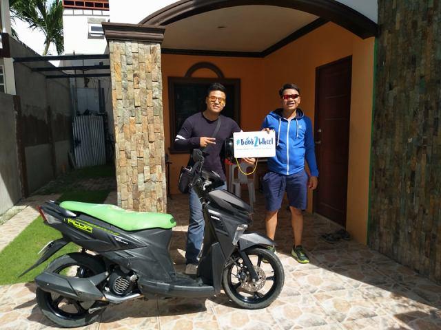 Motorbike rental cebu