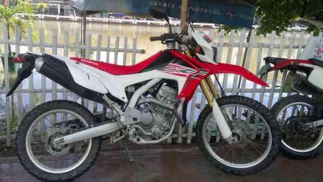boracay motorbike