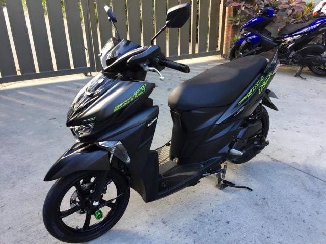 Dark Yamaha Mio 110cc