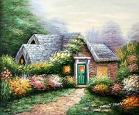 Flower Garden Paintings - Best Interior Designers