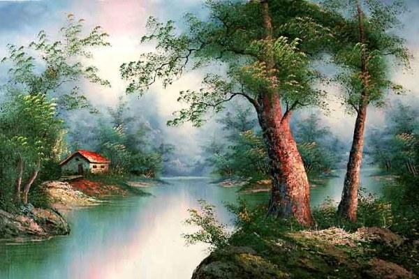 classic landscape of . cafieri