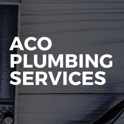 Aco Plumbing Services Bookabuilderuk Member Profile