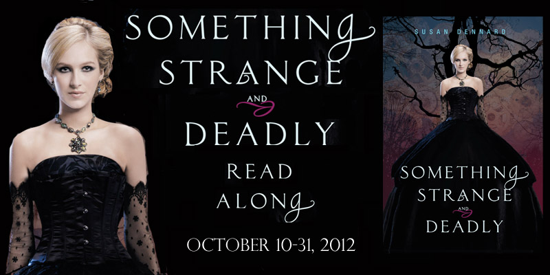 Something Strange And Deadly Read Along Week 3 The Book Addicts