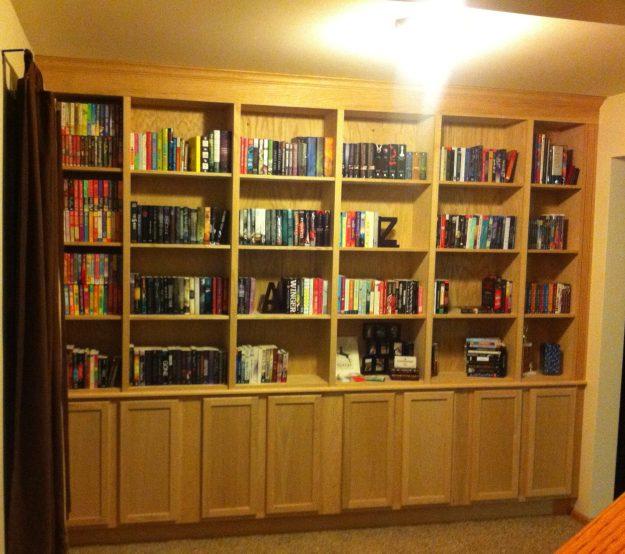 FULL OF BOOKS!
