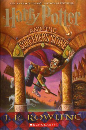 Harry Potter and the Sorcerer's Stone (Harry Potter #1) – J.K. Rowling
