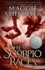 The Scorpio Races paperback cover