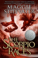 The Scorpio Races paperback cover