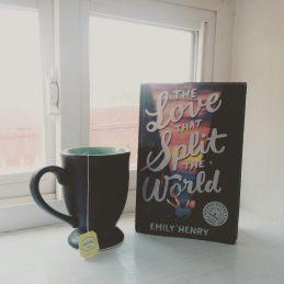 Katherine Locke Book and a Beverage