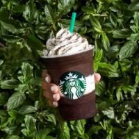 Starbucks Midenight Mint Mocha Frappuccino