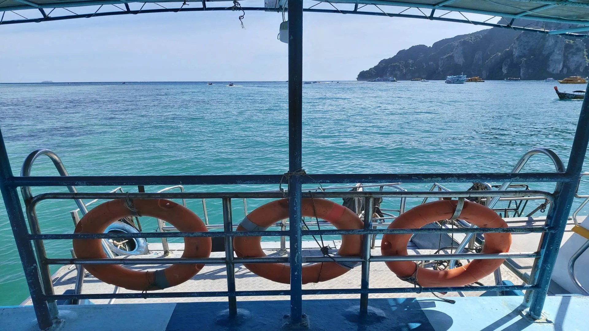 Getting from Koh Phi Phi to Koh Lanta: A traveler review