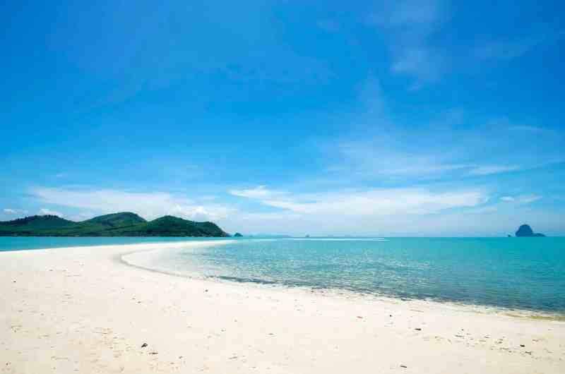 Laem Haad beach curve, Koh Yao Yai, Thailand