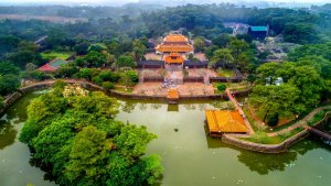Tu Doc Royal Tomb, Hue, Vietnam