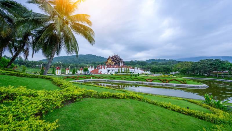 Royal Pavilion, Ho Kham Luang, Royal Park Rajapruek, Chiang Mai