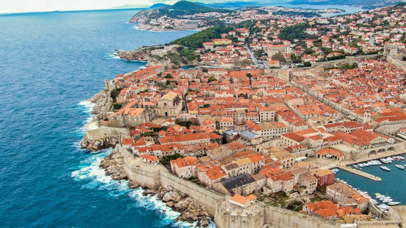 Dubrovnik old city view