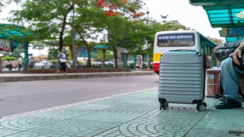 Hanoi bus station