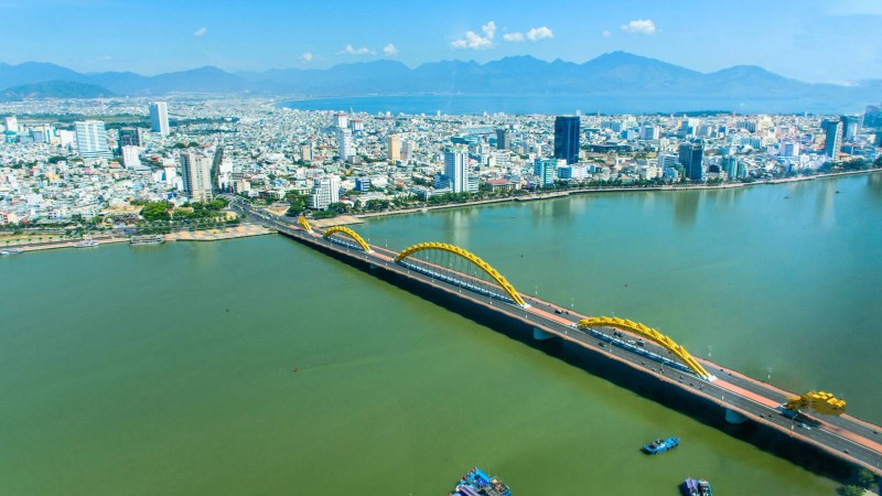 Dragon Bridge, Da Nang, Vietnam