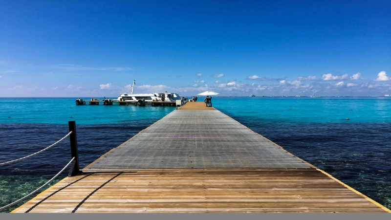 Dock in Mexico