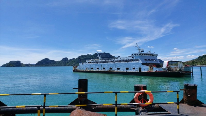 Ferry from Koh Samui to Suratthani