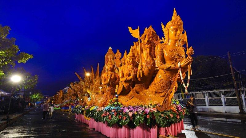 Candle Festival, Ubon Ratchathani, Thailand