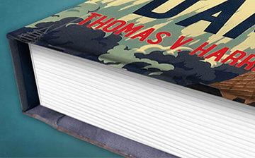 hardcover book printing hardback