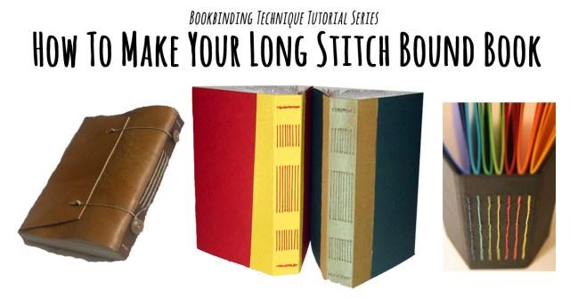 long stitch binding tutorial