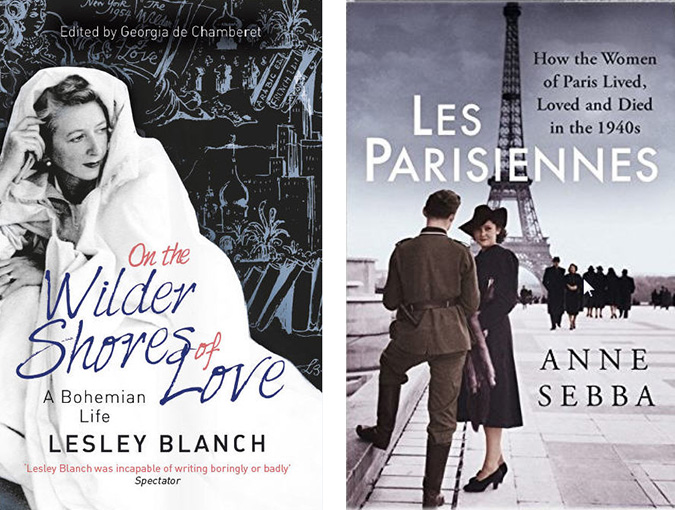 Events at Waterstones, Piccadilly, London W1 | Thursday 12 January 19:00 – 20:30 | On the Wilder Shores of Love: the bohemian life of Lesley Blanch