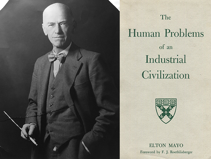 The Three Faces of Elton Mayo | J H Smith | Professor of Sociology, Co-Founder of New Technology Research Group, University of Southampton | published December 1980 in New Society