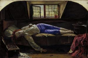 The Death of Chatterton by Henry Wallis, Tate version