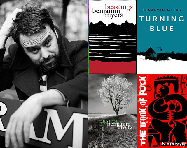 Author of the Week | Benjamin Myers @benmyers1