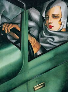 tamara de lempicka green bugatti bookblast review