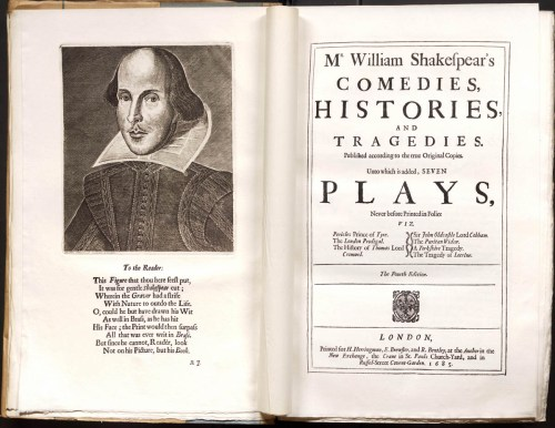 Shakespeare's Fourth Folio, from the Jesuit collection