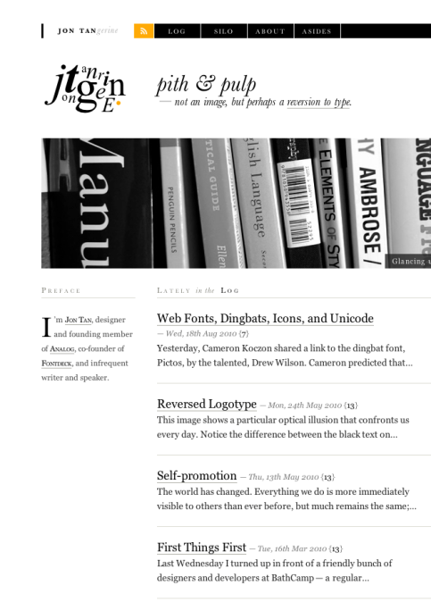 popular fonts for headings.