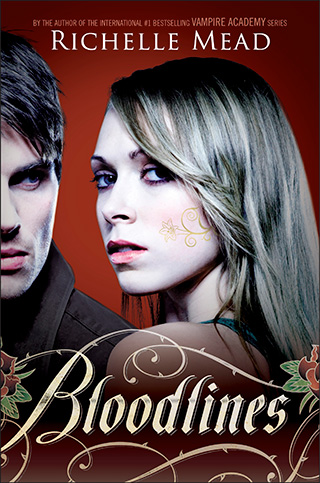 Bloodlines cover, by Richelle Mead