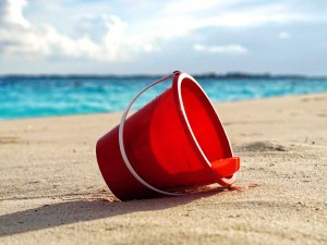Red Bucket And Spade   Book FHR Travel Blog