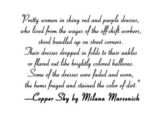 5 Fashion Passages From Copper Sky's 1917 Montana