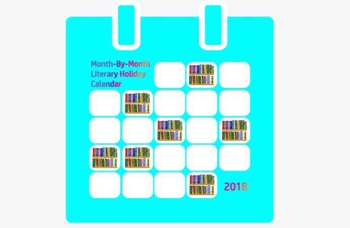 Month-By-Month Literary Holiday Calendar