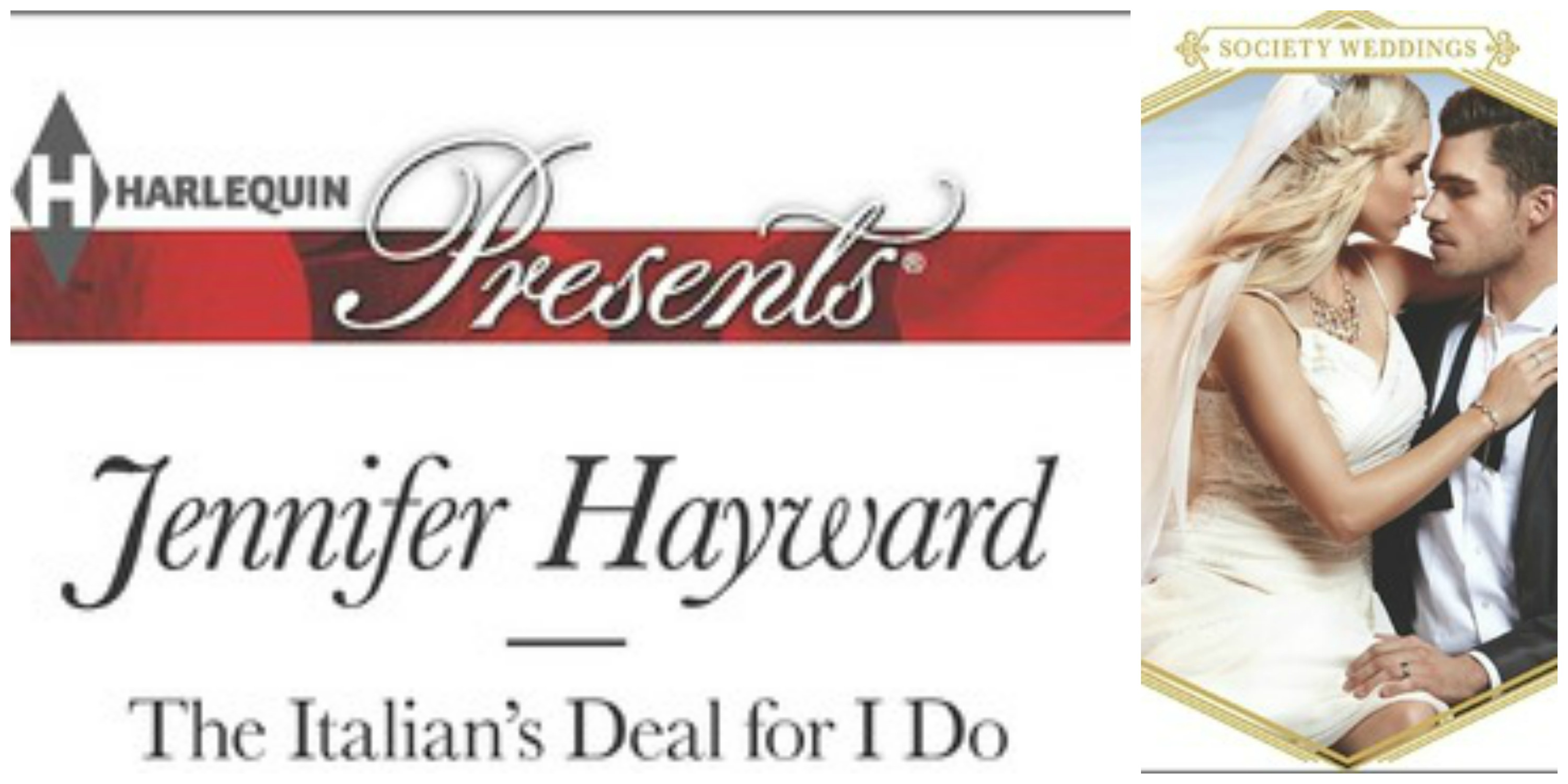 #Giveaway Excerpt THE ITALIAN'S DEAL FOR I DO by JENNIFER HAYWARD @jenhayward_  @HarlequinBooks