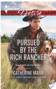 #Giveaway Interview PURSUED BY THE RANCHER by CATHERINE MANN @CatherineMann1 @HarlequinBooks