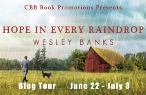 #Giveaway Interview HOPE IN EVERY RAINDROP by WESLEY BANKS @wbauthor