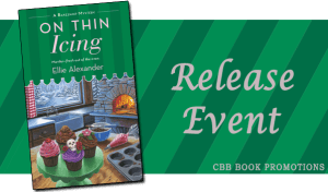 Release Day #Giveaway ON THIN ICING by Ellie Alexander @BakeshopMystery @MinotaurBooks 1.19