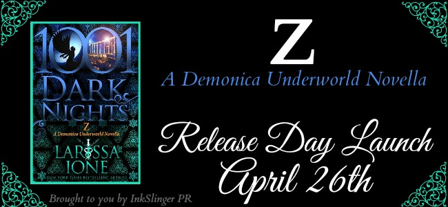 Release Day Launch for Z by Larissa Ione @LarissaIone @InkSlingerPR